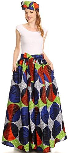 Sangle Sakkas Convertible rglable Asma Jupe Longue whitemulti 307 Cire Robe Imprimer Traditionnelle qZZX1xH