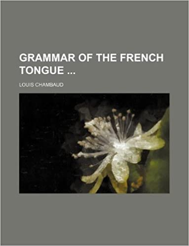 Suosituin äänikirjan lataus Grammar of the French tongue RTF 1231206918
