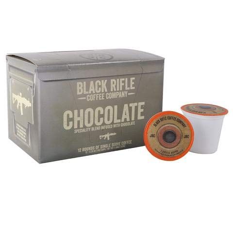 (Black Rifle Coffee K-Cups 2 Boxes of 12(24 -K cups) (Chocolate) )