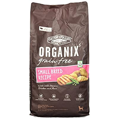Organix Small Breed Recipe Dry Dog Food, 4-Pound