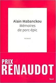 Mémoires de porc-épic, Mabanckou, Alain