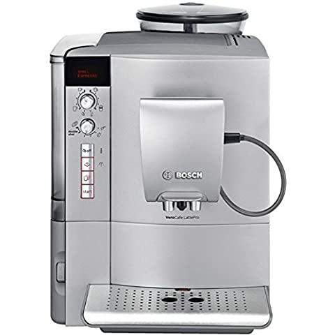 Bosch TES51521RW VeroCafe LattePro Super Fully Automatic Espresso Machine Aroma Pro, SIlver - Optimal Seven Drawer