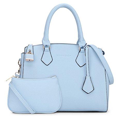 main Sacs bandoulière S722 Valin épaule Bleu Sacs 34x27 Sacs portés femme 5x15 portés BxHxT nIwxS