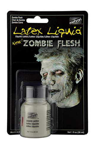 Mehron Makeup Liquid Latex (1 oz) (Zombie Flesh)