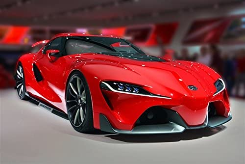 Toyota Ft1 Price >> Amazon Com Driver Motorsports Toyota Ft 1 Ft1 The Next