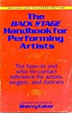 The Back Stage Handbook for Performing Artists, , 0823075699