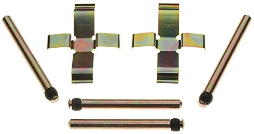 ACDelco 18K388X Professional Rear Disc Brake Caliper Hardware Kit with Clips and Pins ()