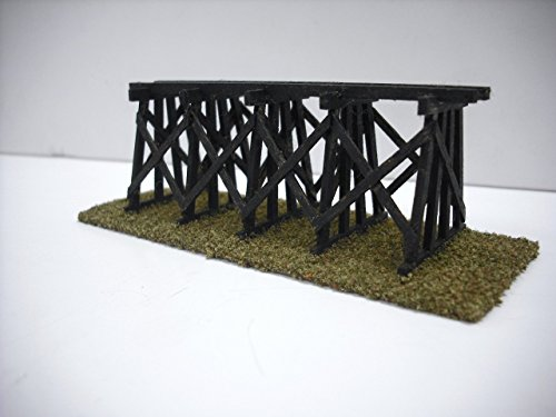 Used, Train Time Laser N Scale Custom Laser Cut Trestle Bridge for sale  Delivered anywhere in USA