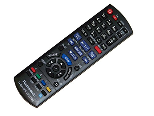 OEM Panasonic Remote Control Originally Shipped with SC-BTT190, SC-BTT195, SC-BTT196, SC-BTT490, SA-BTT190, SA-BTT195, SA-BTT196, SA-BTT490