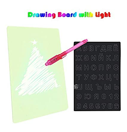 Buy Educational Toy Writing Tablet Drawing Board Magic Draw
