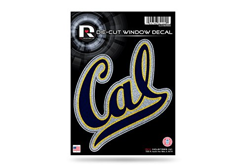 Rico NCAA Cal Berkeley Bling Medium Die Cut Decal, 9 x 5, Logo Color]()