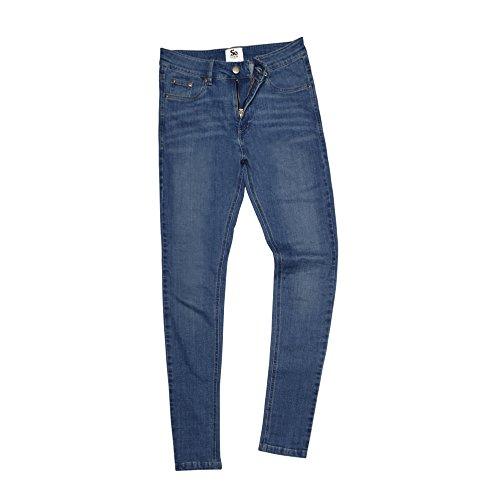Skinny Blu Lara Donna Denim Chiaro Aderenti Fit So Awdis Jeans 8FPqXwxaB