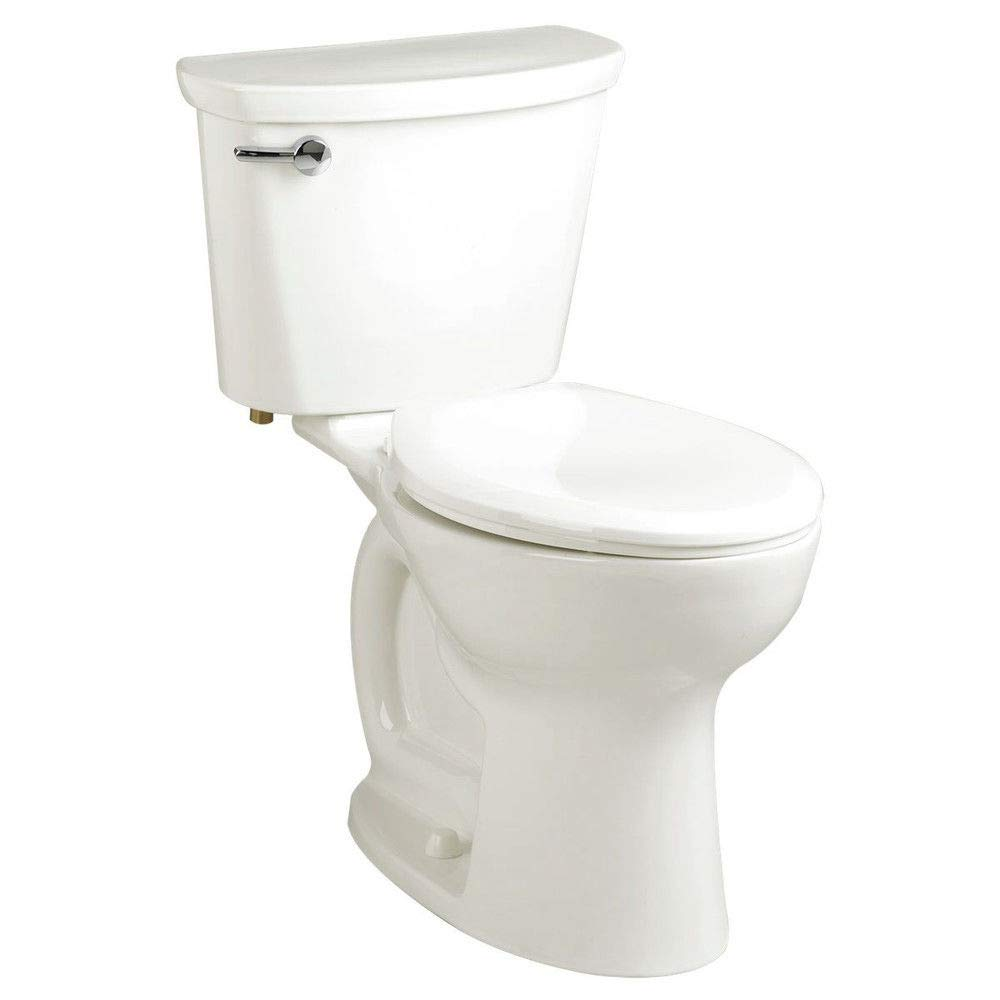 American Standard Cadet PRO Compact Right Height Elongated 14'' Rough-In 1.28 gpf Toilet, White by American Standard