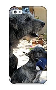 Case Cover Irish Wolfhound Puppies / Fashionable Case For Iphone 5c