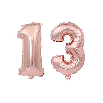 13th Birthday Party Supplies Decorations13th Balloons Gifts Use Them As Props