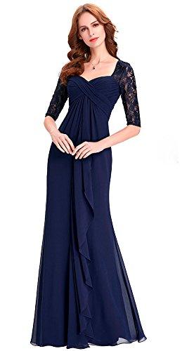 Real mujer Azul para Ai Maria Vestido WOZXnHq