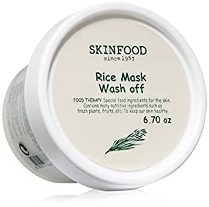 Amazon.com : Skinfood Rice Mask Wash Off, 6.7 Ounce : Beauty