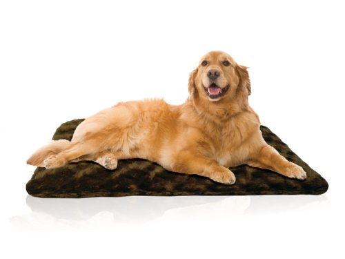 Innergy Orthopedic Crate Mat for Pets, 35 by 22-Inch, Brown, My Pet Supplies