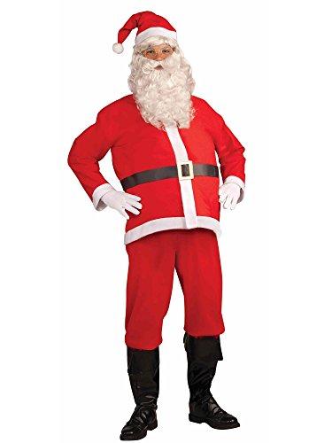 Forum Novelties Promotional Santa Claus Suit, White/Red, X-Large Costume]()