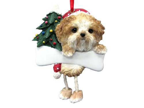 Shih Tzu Ornament Puppy Cut with Unique