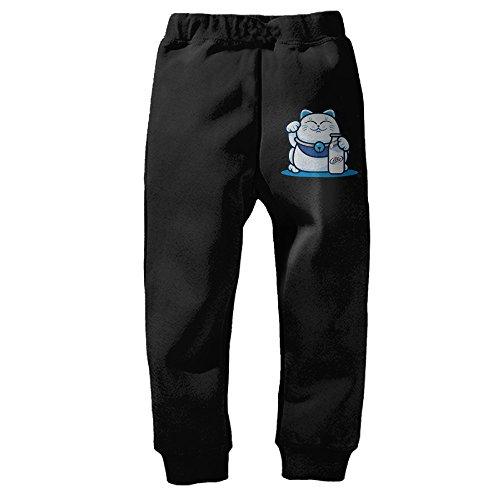 kids-lucky-cat-drink-miller-lite-closed-bottom-sweatpants-3-toddler