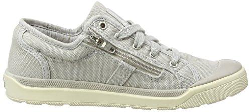 Palladium Unisex-Kinder Palaru Z K Sneaker Grau - Gris (330 Lunar Rock/Marshmallow)