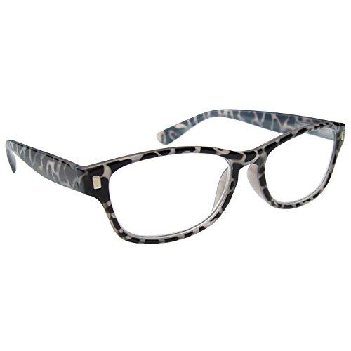 The Reading Glasses Company Black Milky Tortoiseshell Readers Mens Womens R10-1 - Tortoiseshell Glasses