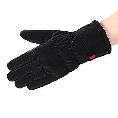 Susenstone Women Waterproof Gloves Winter Warm Gloves Ski Mitten