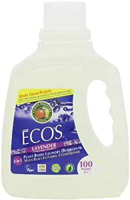 Earth Friendly Products Ecos Liquid Laundry Detergent, Lavender, 100 Ounce by Earth Friendly Products