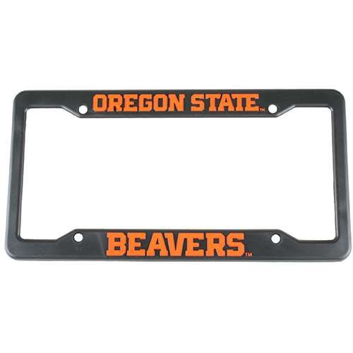 Oregon State Beavers Plastic License Plate Frame Oregon State Beavers Car