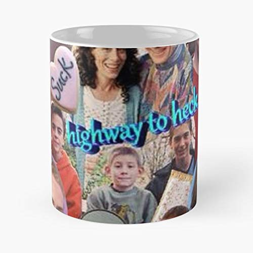 Mitm Malcolm In The Middle Linwood Boomer Bryan Cranston - 11 Oz White -coffee Mug- Unique Birthday Gift-the Best Gift For Holidays. (The Mom From Malcolm In The Middle)