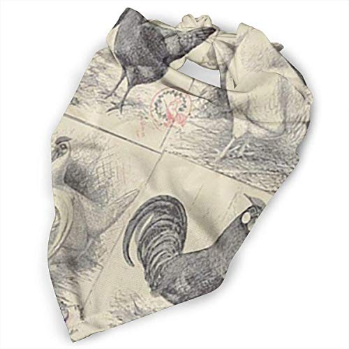 cross ctA Pet Scarf Dog Bandana Bibs Triangle Head Scarfs Chicken Runs Fabrics Accessories for Cats Baby Puppy ()