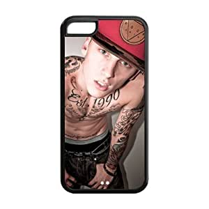 Creative MGK Machine Gun Kelly TPU Inspired Design Case Cover Protective For Iphone 5c iphone5c-NY196