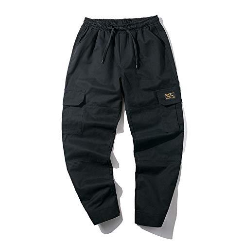 Couleur Noir Combat Printemps Coton De Pantalon Wslcn Mode Hommes Garçon Poche eté Pants Vintage Militaire Pure Casual Multi wTznC6q