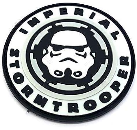 Imperial Stormtrooper cosplay Airsoft PVC Parche: Amazon.es: Deportes y aire libre