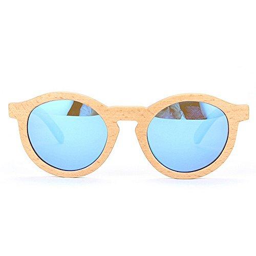 polarisées les soleil à Lunettes rondes de la Nouvelles bambou pour UV main de lunettes à femmes soleil Lunettes protection la de la Lunettes à pour main soleil Wayfarer soleil Lunettes conduite en de wTOEw05xqI