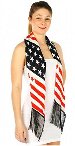 Patriotic Flag American Scarf Crown