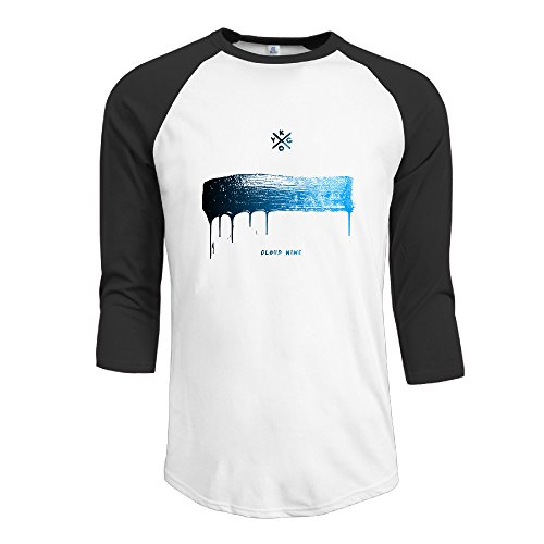 PTCY Kygo Cloud Nine Men's Performance Raglan T Shirt Black L