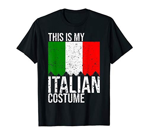 Vintage This is my Italian Flag Costume Shirt For -