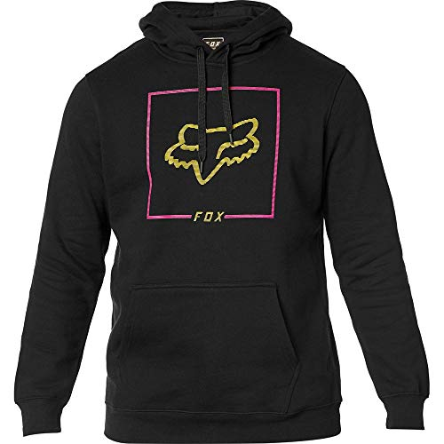 - Fox Racing Chapped Hoody (Large) (Black/Yellow)