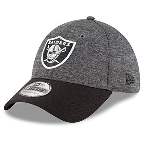 ベーカリーレンジ資金ニューエラ (New Era) 39サーティ キャップ - サイドライン 黒鉛 オークランド?レイダーズ (Oakland Raiders)