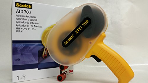 3M ATG 700 Adhesive Applicator, Dispenses 1/2 in and 3/4 in wide ATG rolls (Dispense System)