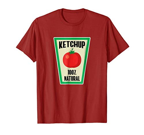 Ketchup Bottle Halloween Costume Shirt -