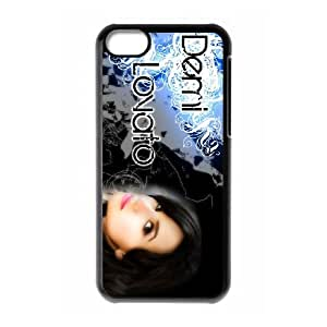 Demi Lovato iPhone 5c Cell Phone Case Black yyfabc-404857