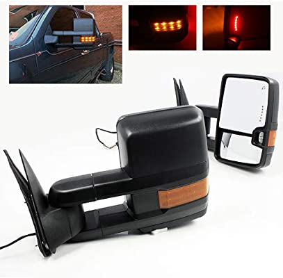 ModifyStreet Power Side Towing Mirrors with Turn Signal and Heated on