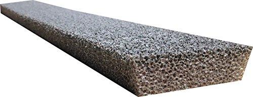 GutterStuff 6-Inch Half Round Style Foam Gutter Filter Insert, 144-Feet ()