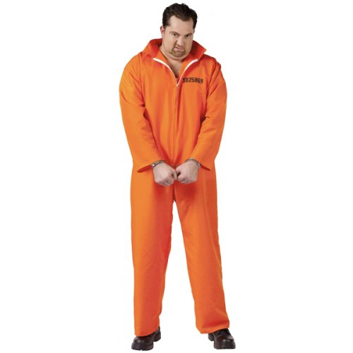 Fun World Busted Jumpsuit Orange