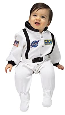 Jr Astronaut Suit Size 6 To 12 Months White from Aeromax