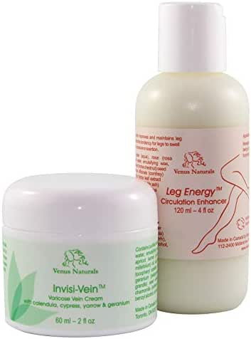 Invisi-Vein and Leg Energy Combo, Best Solution for Varicose Veins and Poor Leg Circulation