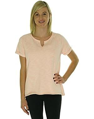 Calvin Klein Women's Short Sleeve Pullover Tee She Medium